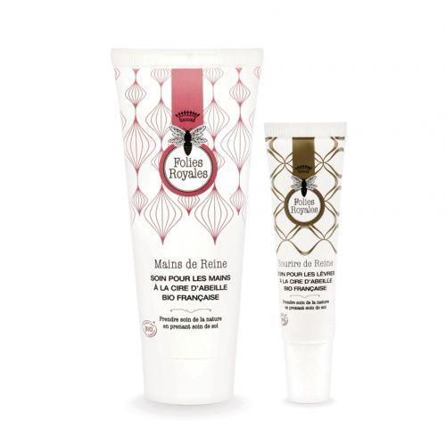 Duo Indispensables Crème mains et baume à lèvres