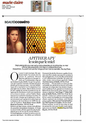 article Folies Royales MARIE CLAIRE