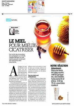 article Folies Royales SANTE MAGAZINE
