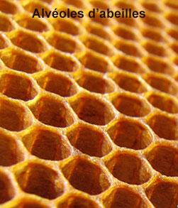 Alvéoles d'abeilles